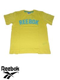 Junior Reebok 'SS' T Shirt (B09093) x4 (Option 1): £3.95